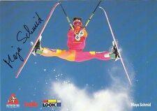 Maya Schmid: Olympia 4.1994, WM 1.1991 Ski Freestyle Aerials  SUI