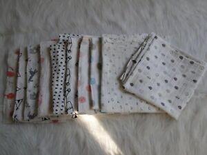 Last One!!! Organic Cotton 2-Layer Muslin Wrap 110cm x 110cm