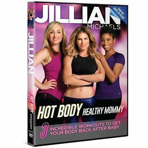 Jillian Michaels Hot Body Healthy Mommy (DVD) Exercise Work Out Training NEW