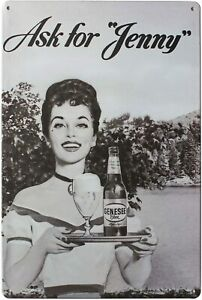 """CAFE Metal Tin Sign, Vintage Style Wall Ornament Coffee & Bar Decor,Size 8""""*12"""""""