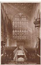 Parish Church Interior, ROTHERHAM, Yorkshire RP