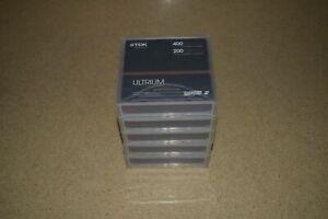 TDK LTO ULTRIUM 2 200/400GB 400GB DATA CARTRIDGES LOT OF 5  NEW (H8)