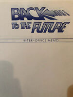 """Back To The Future"" Production Used Movie Memorabilia"