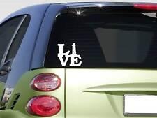 """Lighthouse love Sticker *G581* 8"""" Vinyl beach captain new england beach coast"""