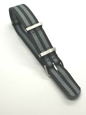 🇬🇧James Bond 007 Nato MILITARY Style Strap 22mm for Omega Watches