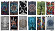 Hippie Mandala Cotton Window Curtains Indian Ethnic Boho Door Decorative Curtain