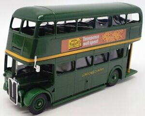 Solido 16cm Long 4404 - Green Line Double Deck London Country Bus - R704 Windsor