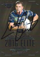 ✺Signed✺ 2016 NORTH QUEENSLAND COWBOYS NRL Card LACHLAN COOTE