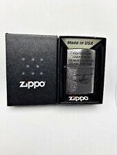 Original Zippo en TU MECHERO vietnam 1 200 nuevo/sin usar/2 g 724