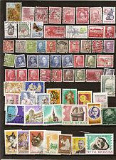 N°005-lot de 66 timbres 43 Roumanie et 23 Danemark -oblitérés- très bon état