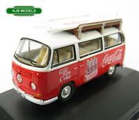 BNIB OO GAUGE OXFORD 1:76 76VW030CC VW BAY WINDOW BUS / VAN COCA-COLA