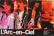 """L'ARC EN CIEL""""TRANS ASIA VIA PARIS LIVE IN HONG KONG"""" PROMO POSTER-Concert Shots"""