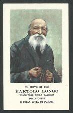 Estampa del Siervo Longo image pieuse holy card santino