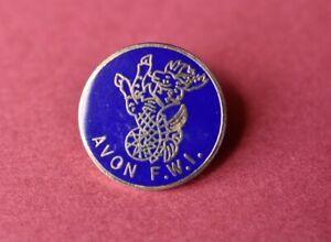 Vintage federation Womens Institute FWI Pin badge  Wi Avon County Rare Bristol