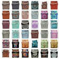 Indian Mandala Duvet Cover -Bohemian -Hippie -Boho Donna Bedding Set Quilt Cover