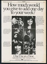 1982 One Day At A Time TV show Valerie Bertinelli & cast photo vintage trade ad