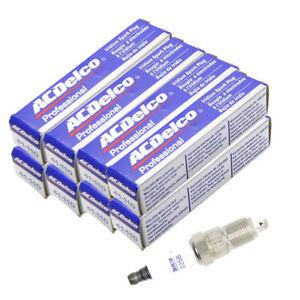 Set of 8 Spark Plug AcDelco 41-101 For Oldsmobile Pontiac Chevrolet Buick 96-14
