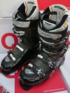Atomic Mens Ski boots  'Black metal- Smoke' Sizes 9 & 10 New 50% Off