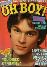 Oh Boy! Magazine 3 June 1978 No.80      Johnny Cougar      Scott Baio