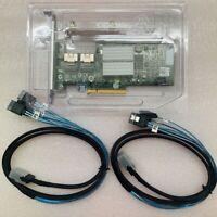 TESTED Dell PERC H200 6Gb PCI-e SAS SATA 8 port Raid Card +2PCS SATA 8087 cable