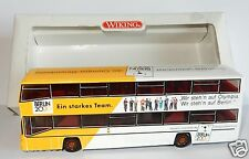 WIKING HO 1/87 BUS AUTOCAR MAN D89 BERLIN 2000 ligne 100 zoolog garten ZOO box 1