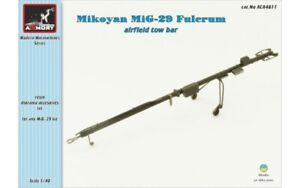 Armory 1/48 MiG-29 Fulcrum airfield tow bar resin kit
