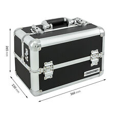 anndora Beauty Case 20 Liter Schwarz Multikoffer Etagenkoffer Transportkoffer
