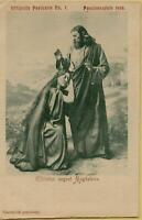 1616: Postkarte Ansichtskarte Passionsspiele 1900 Oberammergau
