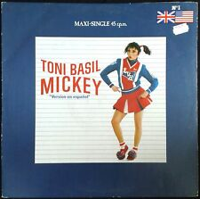 Toni Basil Mickey (Spanish Version) - Spain Radialchoice Maxi Single F-600 777
