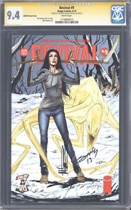 REVIVAL #9 (CBLDF Limited Variant) CGC 9.4 SS / Double-signed Seeley & Norton!