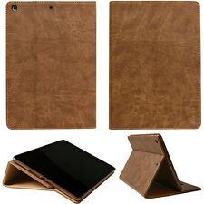 Luxus Leder Cover Apple iPad Pro 10,5'' Schutz Hülle Tasche Tablet Case braun