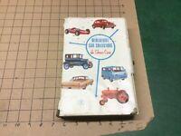 1966 Mattel Miniature Car Collectors 12 Car Show Case - uncleaned