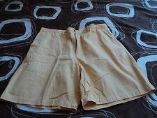John Ashford  size 40   yellow.  100% cotton   Flat front  AS PANTS