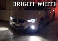 BMW 3 Series F30 BRIGHT XENON 6000K WHITE SMD LED Fog Light Bulbs