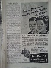 1942 Poll Parrot Son Daughter Healthiest In Nation Original Print Ad