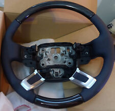 Range Rover L405 2013+ Lunar Leather & Macassar Wood Heated Steering Wheel NEW