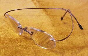 Silhouette 7395 Titan Titanium eyeglass frame Austria