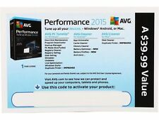 AVG Performance 2015 - Unlimited Devices / 1 Year ( Product Key Card )