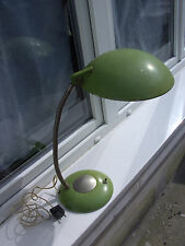 Lampe bureau ERPE Ufo design french art deco bauhaus vintage lamp desk 40.50's