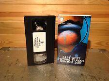 East West futuro Flavas verano 2001 Raro Vhs Video