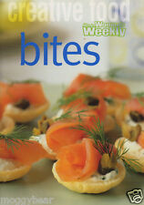 Bites by The Australian Women's Weekly 2001 Impressive & Delicious Mini Cookbook