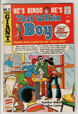 That WILKIN BOY - ARCHIE #17 Giant (Apr 1972) VG+ CONDITION Comic Book
