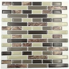 Cocotik Peel And Stick Tile 10 x10 Self Adhesive 3D Wall Tile , Pack Of 10