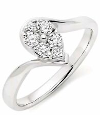 Beaverbrooks Excellent Cut White Gold Fine Diamond Rings