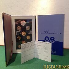 Coffret BE 2006 France 9 pièces 5 Euro + 2 Euro à 1 Centime Belle Epreuve
