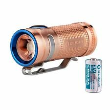Olight S Mini CU Baton 550 Lumen Raw Copper EDC LED Flashlight [S1, S1A, S1R]