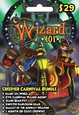 NEW Wizard 101 Creepier Carnival Bundle FAST DELIVERY