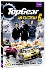TOP GEAR UK 2011 + 2009  THE CHALLENGES VOLUME 6 TV Series - NEW UK DVD not US