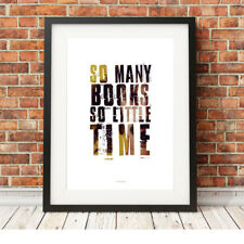 Frank Zappa ❤ SO MANY BOOKS, SO LITTLE TIME ❤  Limited Edition Print 5 sizes #25
