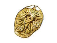 Bijou plaqué or 18 carats rare pendentif vintage année 1970 idéal pour cadeau
